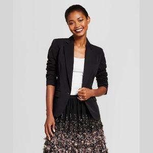 A New Day Black Bi-Stretch Twill Blazer - Size 10